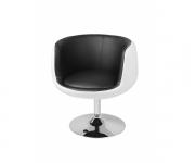 Барное кресло CH-5032 Cup (белое с черным)