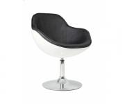 Барное кресло ZC-080 Ego (белое с черным)