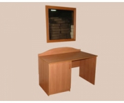 Стол однотумбовый с дверкой