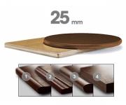 Столешницы МДФ 25мм, фанерованные шпоном дуба (толщина 25 мм)