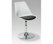 Барный стул US-018 белый с черным