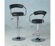 Барный стул из экокожи черный Angle 5013
