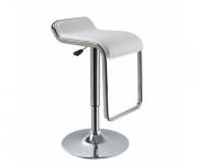 Барный стул из экокожи белый Sienna MKW667