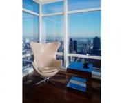 Кресло дизайнерское Egg swan A219 в ассортименте