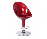 Барный стул пластиковый бургундия Riz 1003