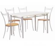 Обеденная группа - стол Декор 4 и стулья Клуб