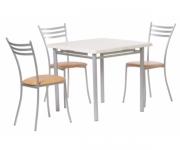 Обеденная группа - стол Алькор 2, стулья Флоренция