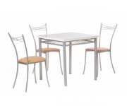 Обеденная группа - стол Алькор 4 и стулья Клуб