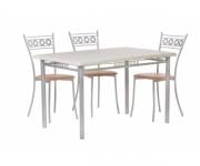Обеденная группа - стол Декор 1, стулья Греция
