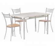Обеденная группа - стол Декор 2 и стулья Флоренция