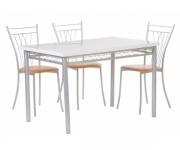 Обеденная группа - стол Декор 5 и стулья Грета