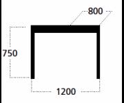 Стол Командор (прямоугольный)