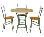 Стол с круглой столешницей С-800