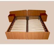 Кровать односпальная (комплект 2 шт.)