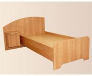 Кровать из ЛДСП с тумбой