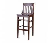 Барный деревянный стул BST-0014