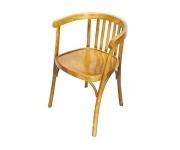 Деревянное венское кресло Алекс с жестким сидением