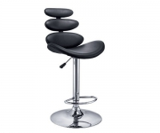 Барный стул 011 (черный)