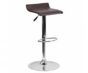 Барный стул из экокожи коричневый Provence 3013