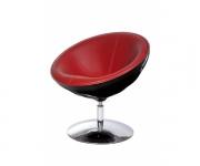Кресло Lotus 636 Ego (черное с красным)