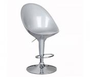 Барный стул пластиковый серебро Riz 1003