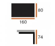 Стол Боргезе (160х80) - 60, 64, 65, 70